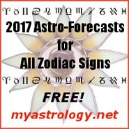 Free 2017 astrology forecasts for all zodiac signs