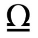 Astrological glyph for the zodiac sign Libra