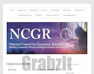 National Council for Geocosmic Research (NCGR)