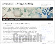 Anthony Louis -- Astrology & Tarot Blog