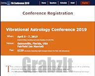 Vibrational Astrology Conference 2019