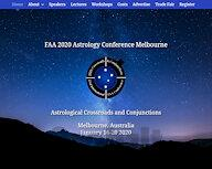 FAA 2020 Astrology Conference Melbourne