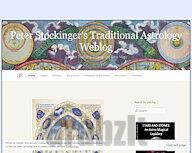 Peter Stockinger's Traditional Astrology Weblog